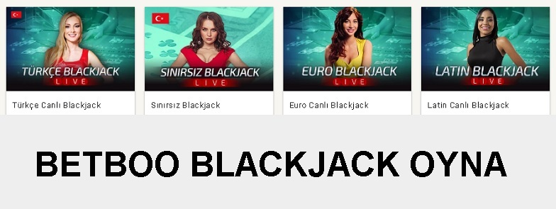 betboo blackjack oyna
