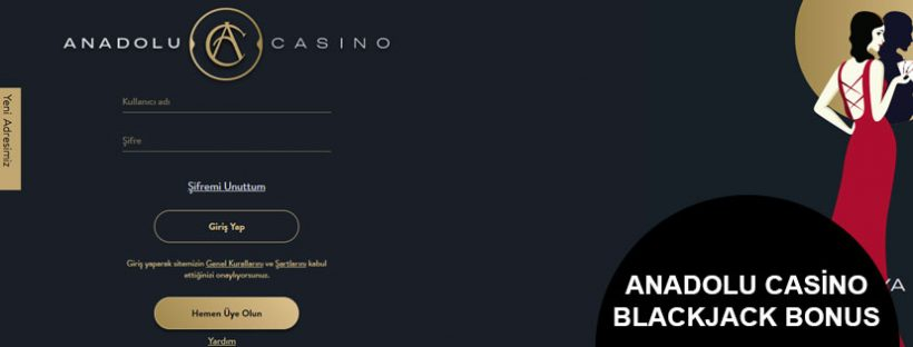 Anadolu Casino Blackjack Bonud