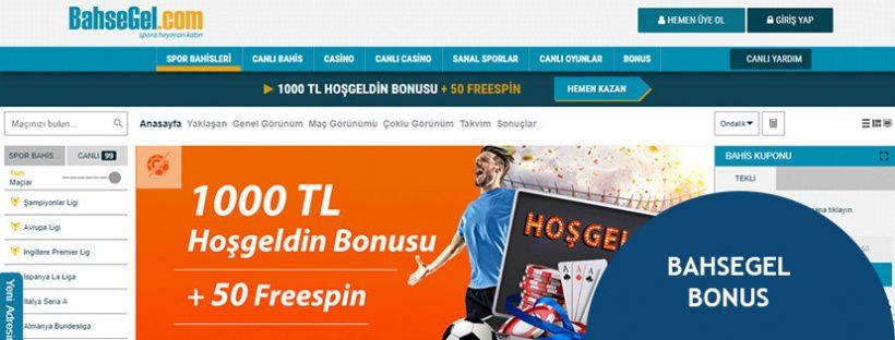 BahseGel Bonus